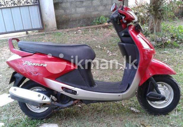 Hero Honda Pleasure 2009 #1