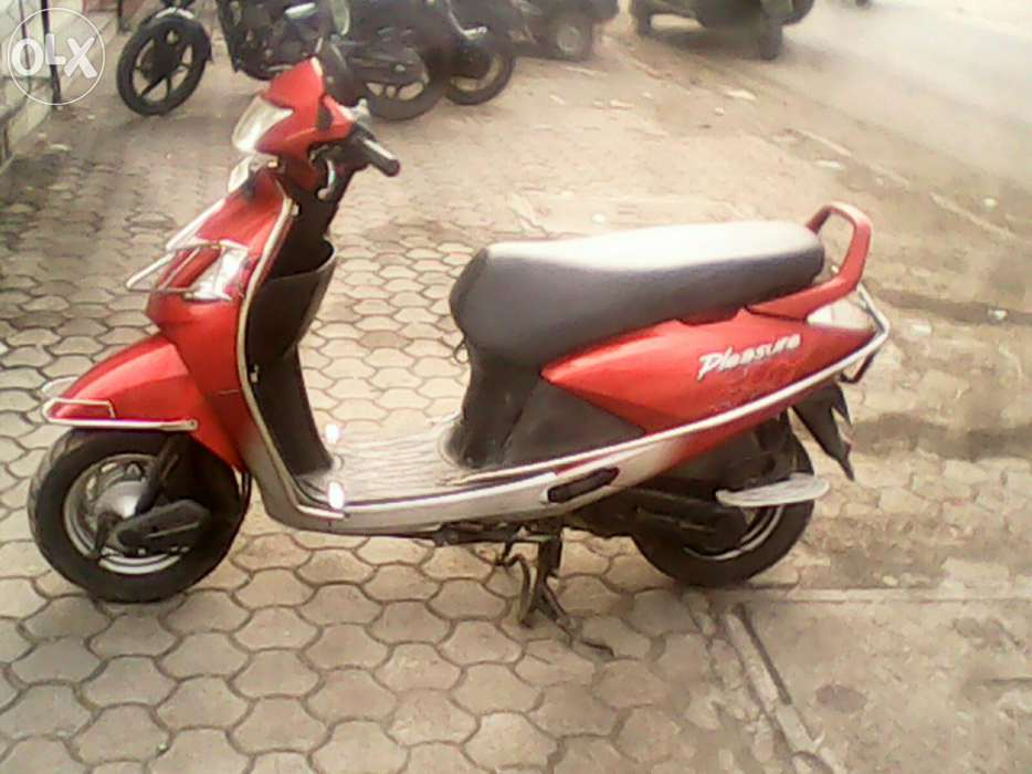 Hero Honda Pleasure 2009 #4