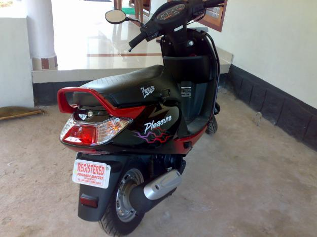 2009 Hero Honda Pleasure #7