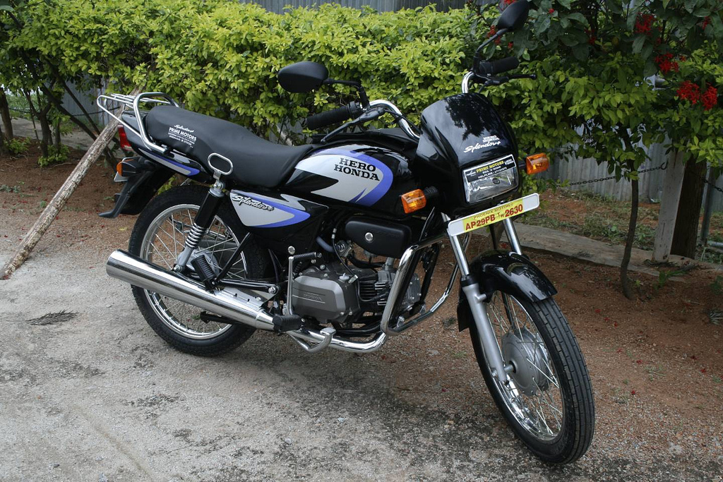 Hero Honda Spendor+ 2006 #1