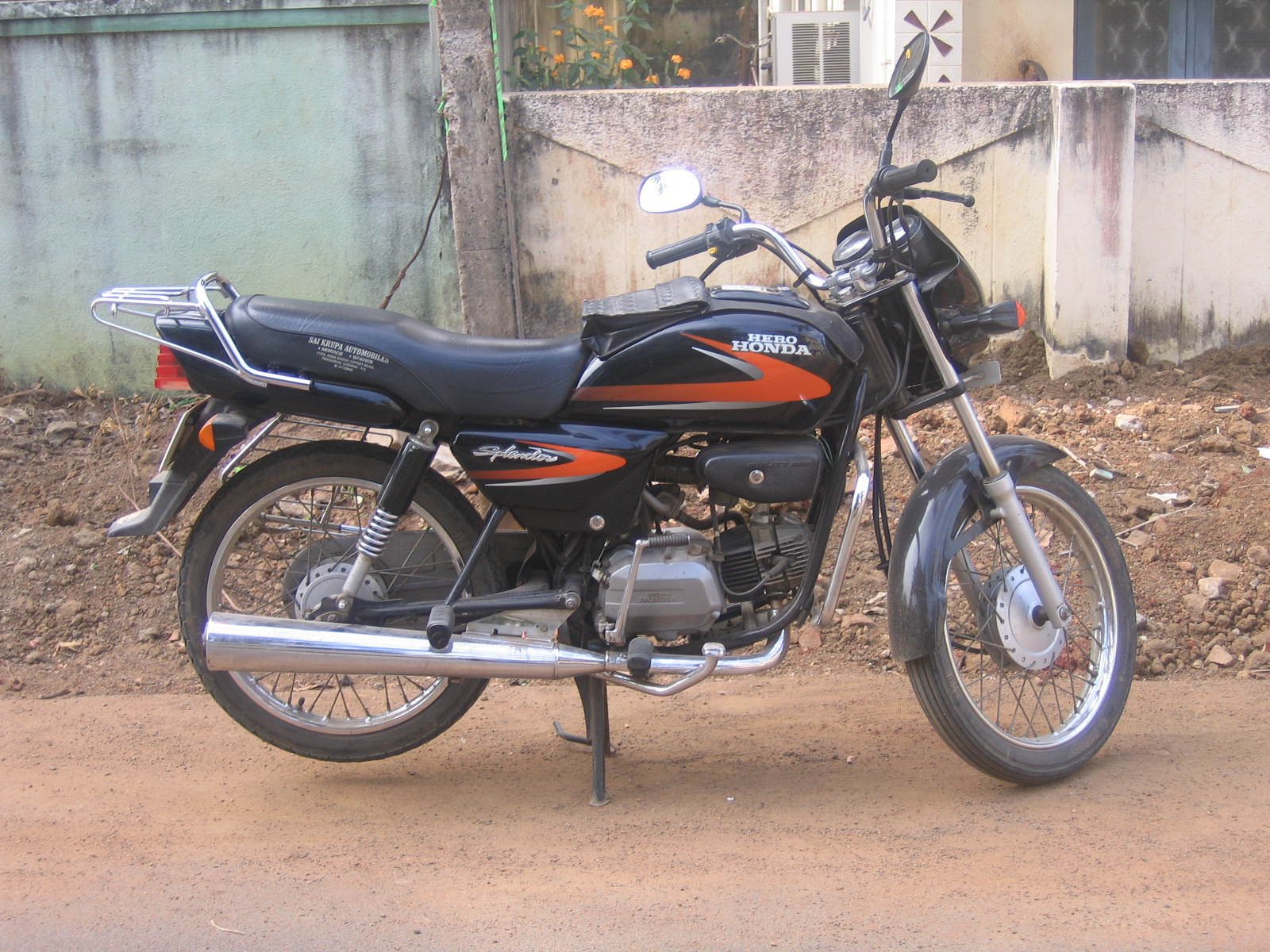Hero Honda Spendor+ 2006 #6