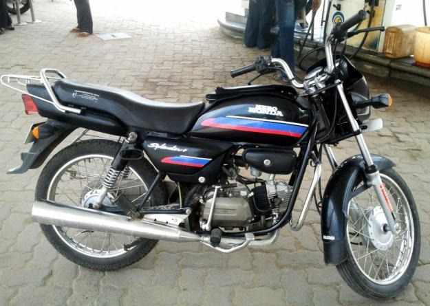 Hero Honda Spendor+ 2006 #9