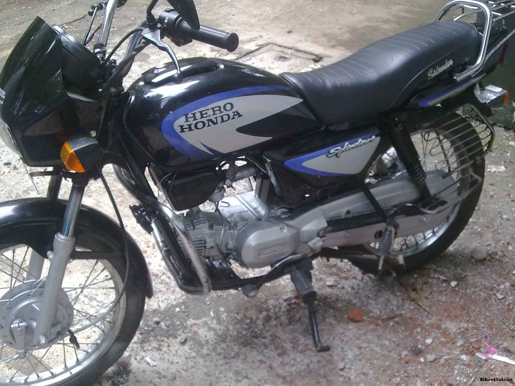 Hero Honda Spendor+ #7
