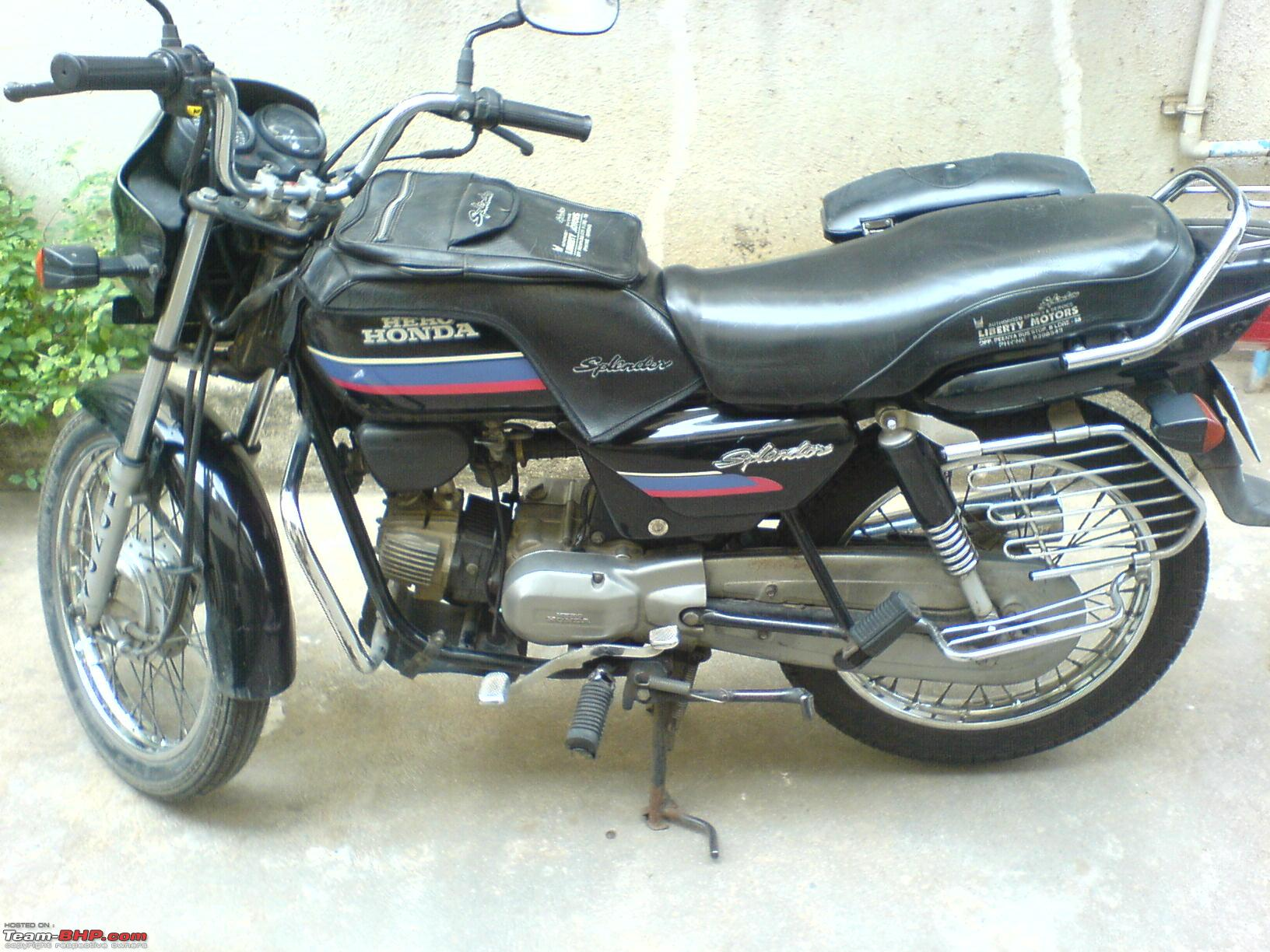 Hero Honda Spendor+ #9