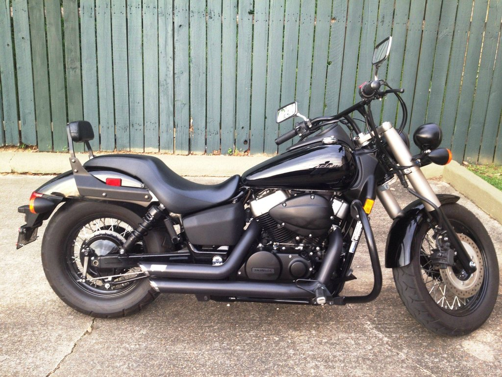 2010 honda 750 shadow phantom   image 7