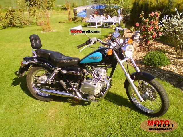 1997 Honda CA125 Rebel #7