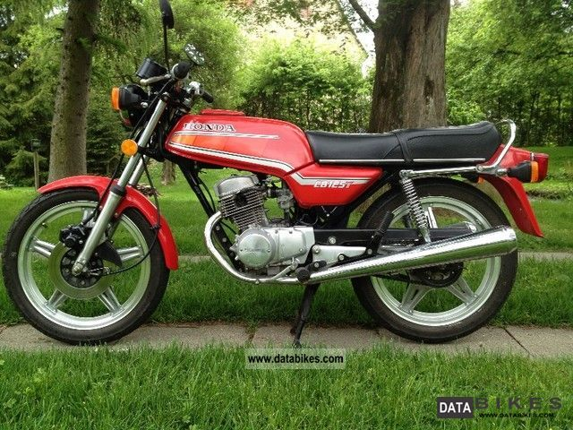 Honda CB125T2 glorifying roads #8