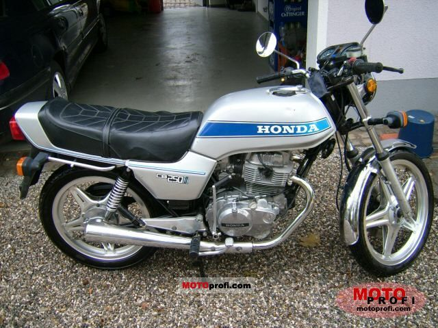 Honda CB250N (reduced effect) #1