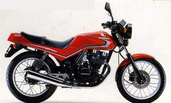 Honda CB250N (reduced effect) #10