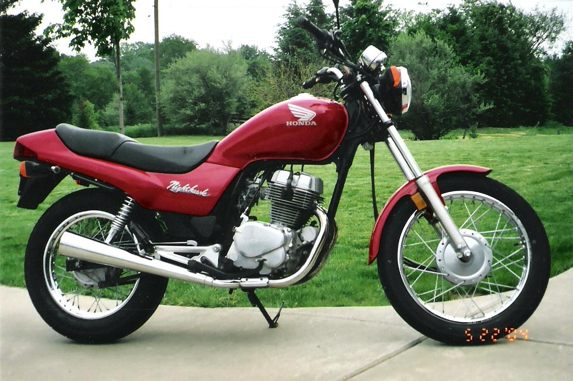 Honda CB250N (reduced effect) #12