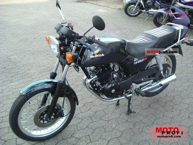 Honda CB250RS (reduced effect) 1982 #1