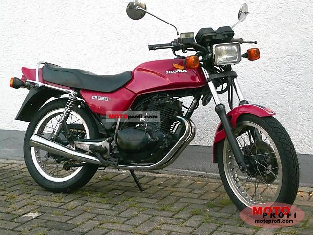 Honda CB250RS (reduced effect) 1982 #4