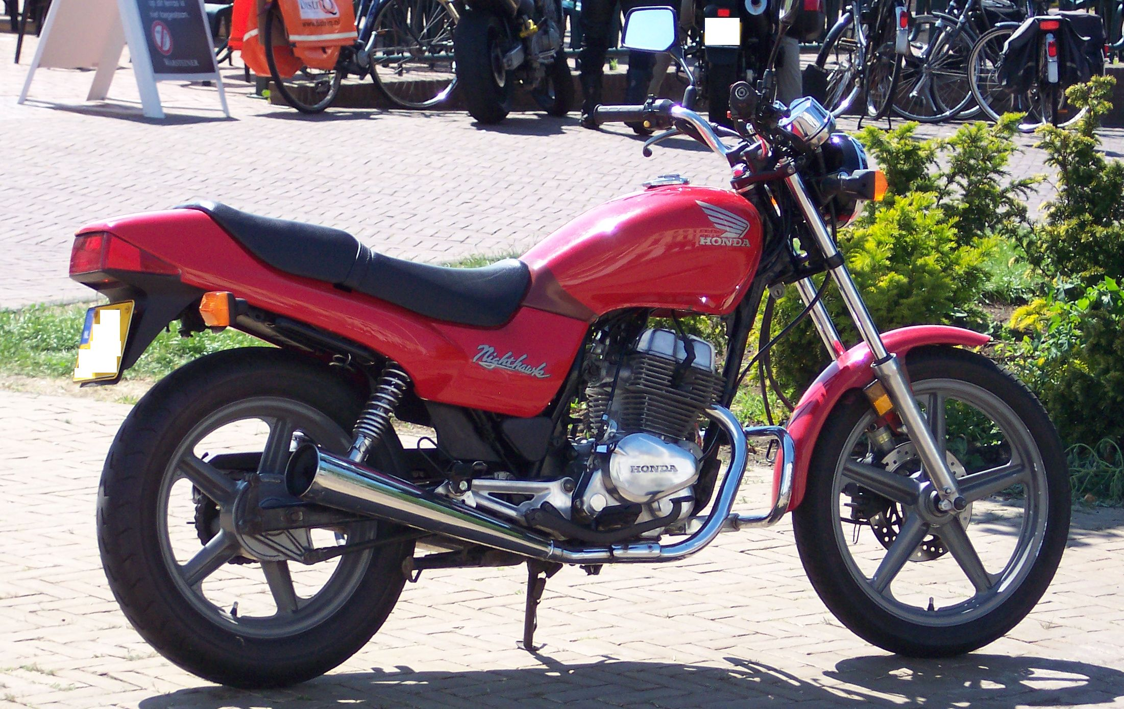 1982 Honda CB400N (reduced effect) #9