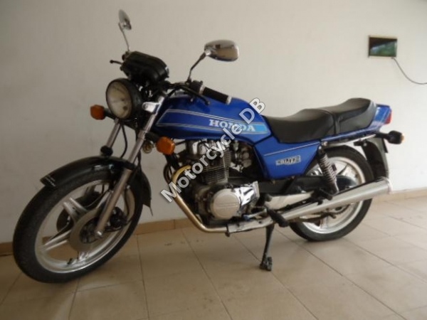 Honda CB400N (reduced effect) 1983 #4