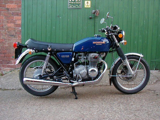 Honda CB400N (reduced effect) 1983 #7