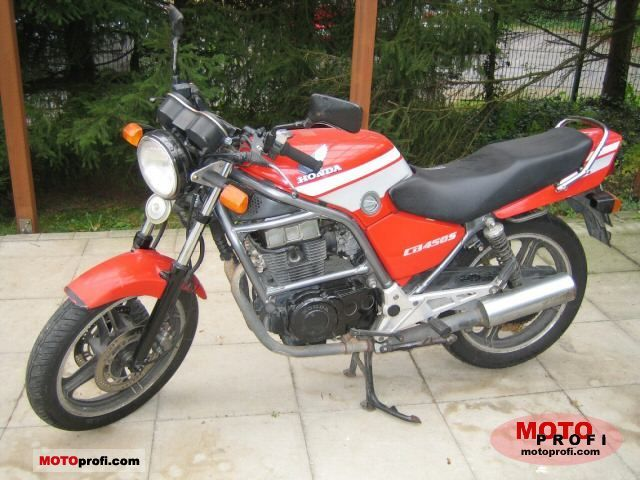 1986 Honda CB450N (reduced effect) #2