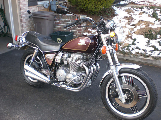 Honda CB650 (reduced effect) #1