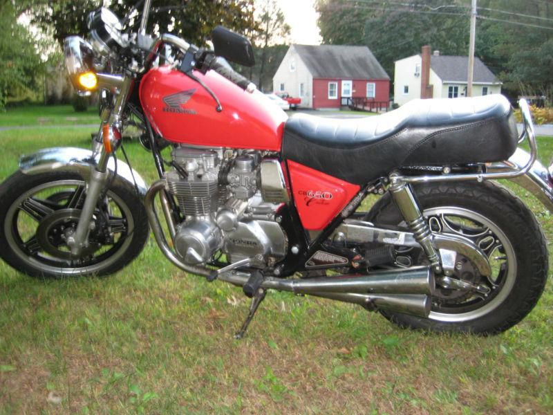 Honda CB650 (reduced effect) #2