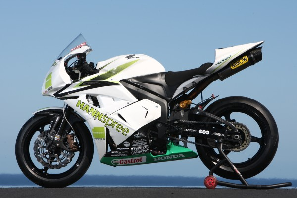 Honda CBR600RR HANNspree Ten Kate Replica 2008 #3