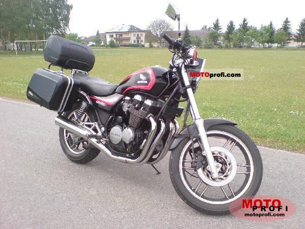 1986 Honda CBX650E (reduced effect) #1
