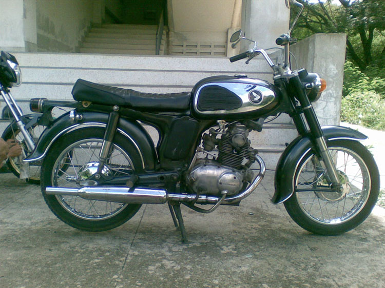 Honda CD200T Benly 1984 #11