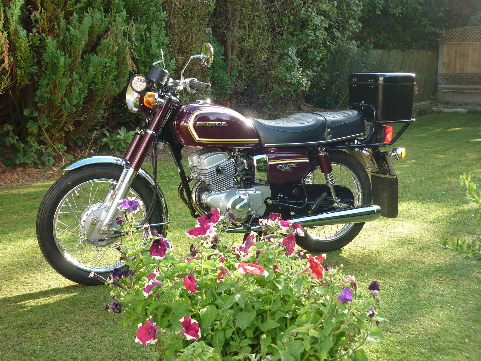 Honda CD200T Benly 1984 #6