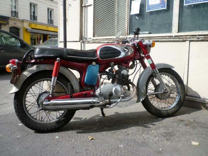 Honda CD50 Benly 2002 #4