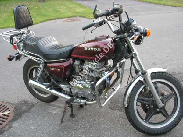 Honda CM400T (reduced effect) 1983 #3