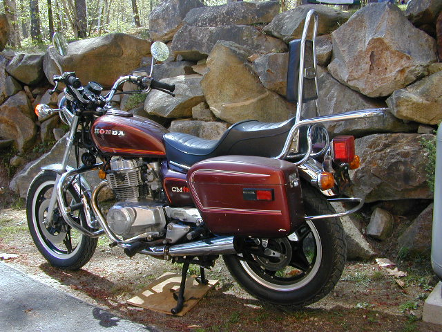 Honda CM400T (reduced effect) 1983 #4