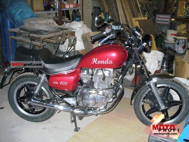 1983 Honda CM400T (reduced effect) #6