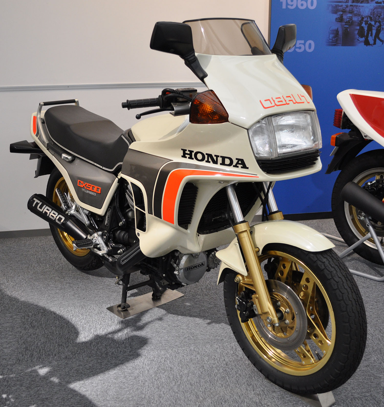 Honda CX500 Turbo 1982 #2
