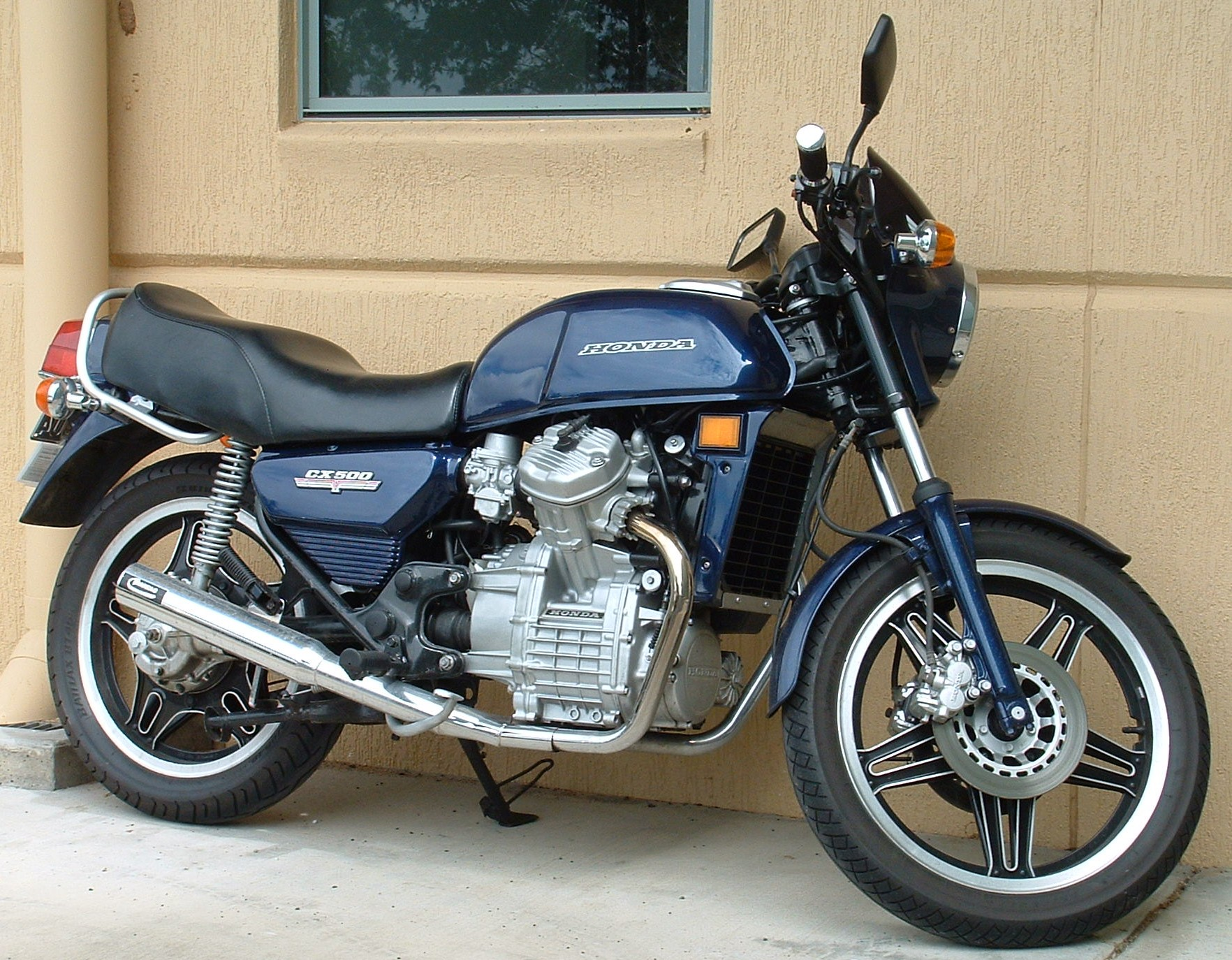 Honda CX500 Turbo 1982 #5