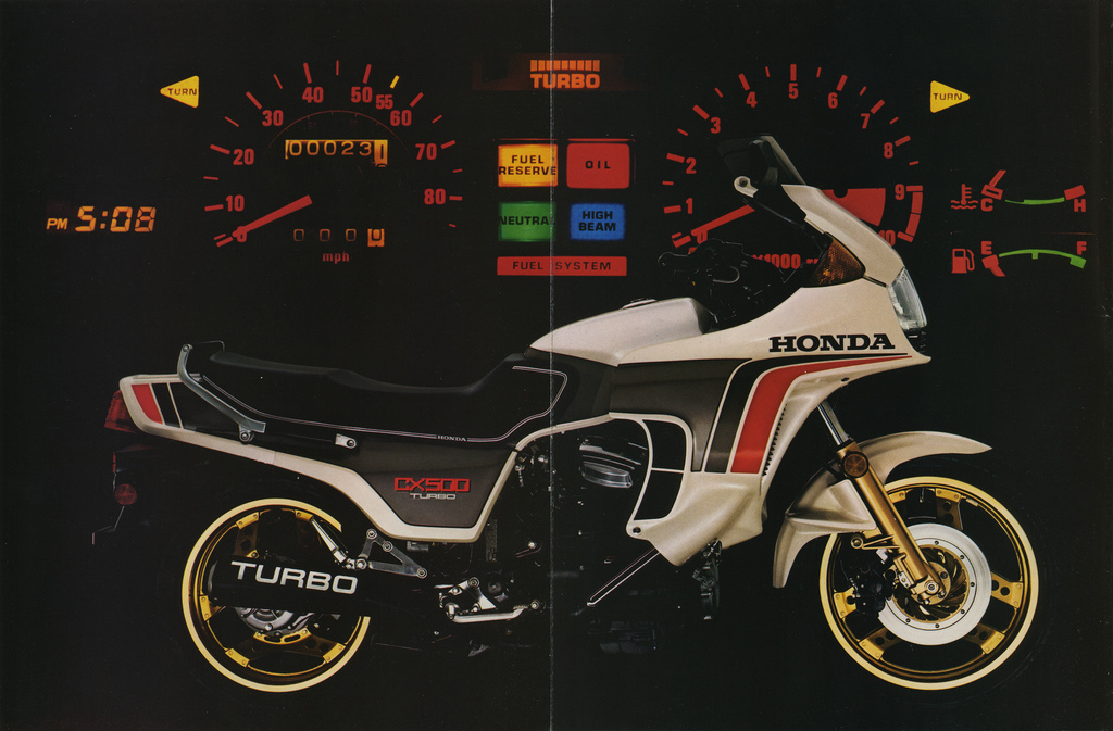 Honda CX500 Turbo 1982 #6