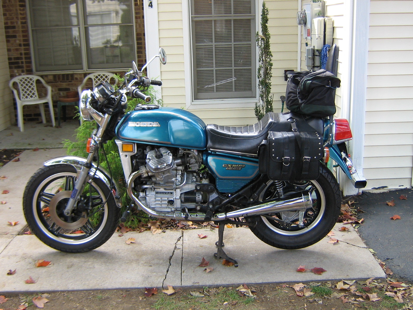 Honda CX500C (reduced effect) 1980 #9