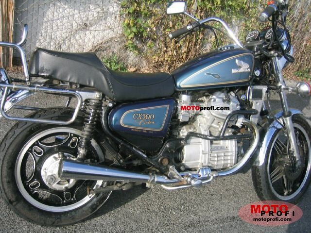 1980 Honda CX500C (reduced effect) #3