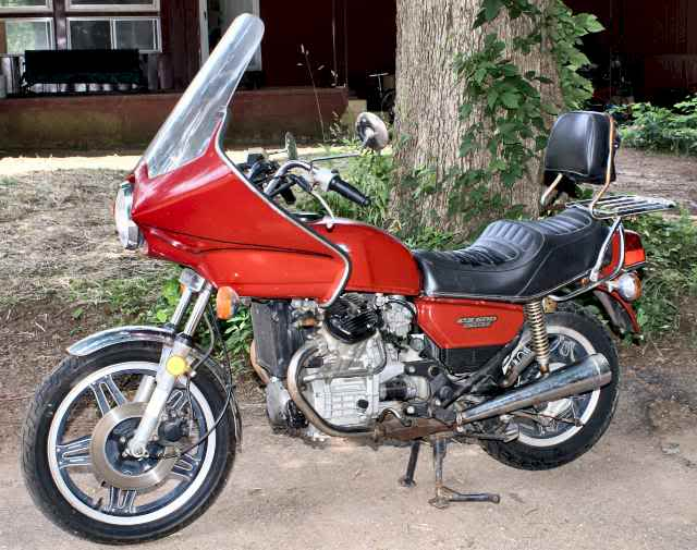 Honda CX500E (reduced effect) 1984 #4