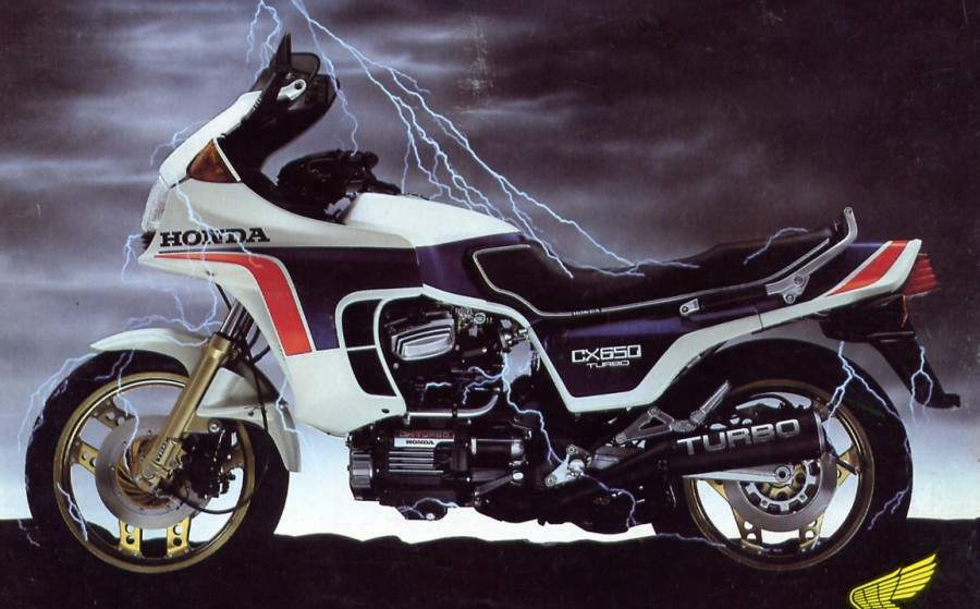 Honda CX650 Turbo 1985 #1