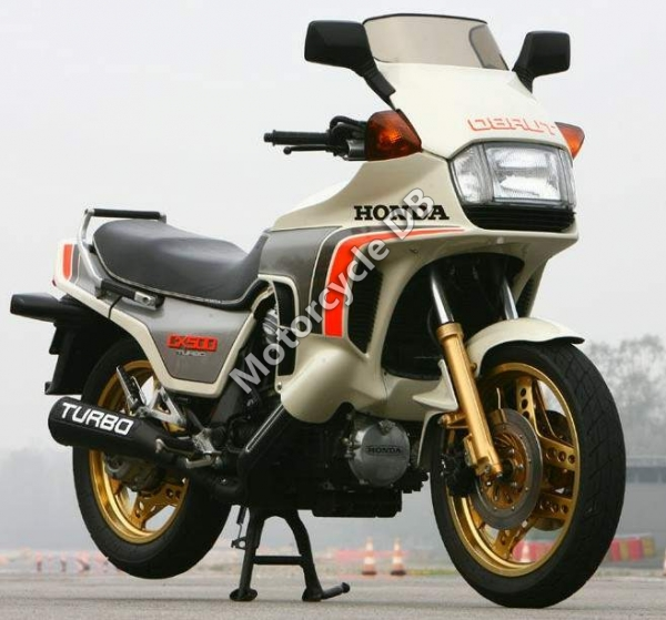Honda CX650 Turbo 1985 #2