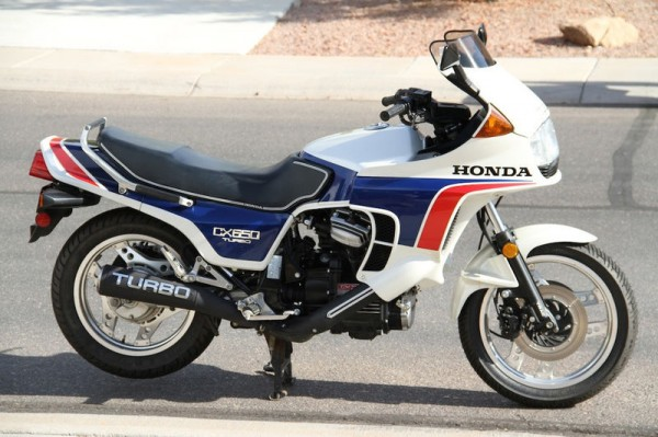 Honda CX650 Turbo 1985 #6