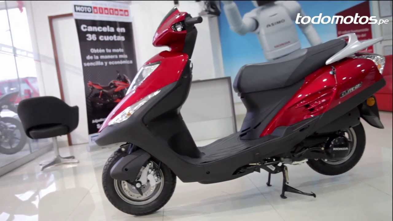 moto scooter elite