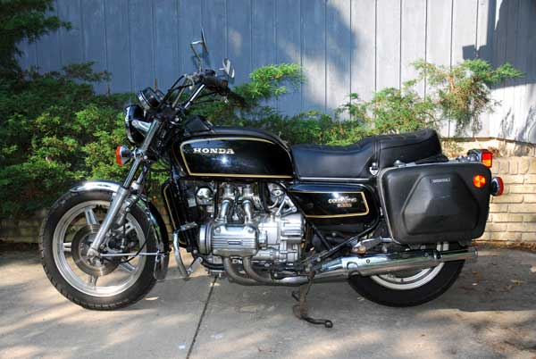 Honda GL1000 Gold Wing Interstate 1981 #13