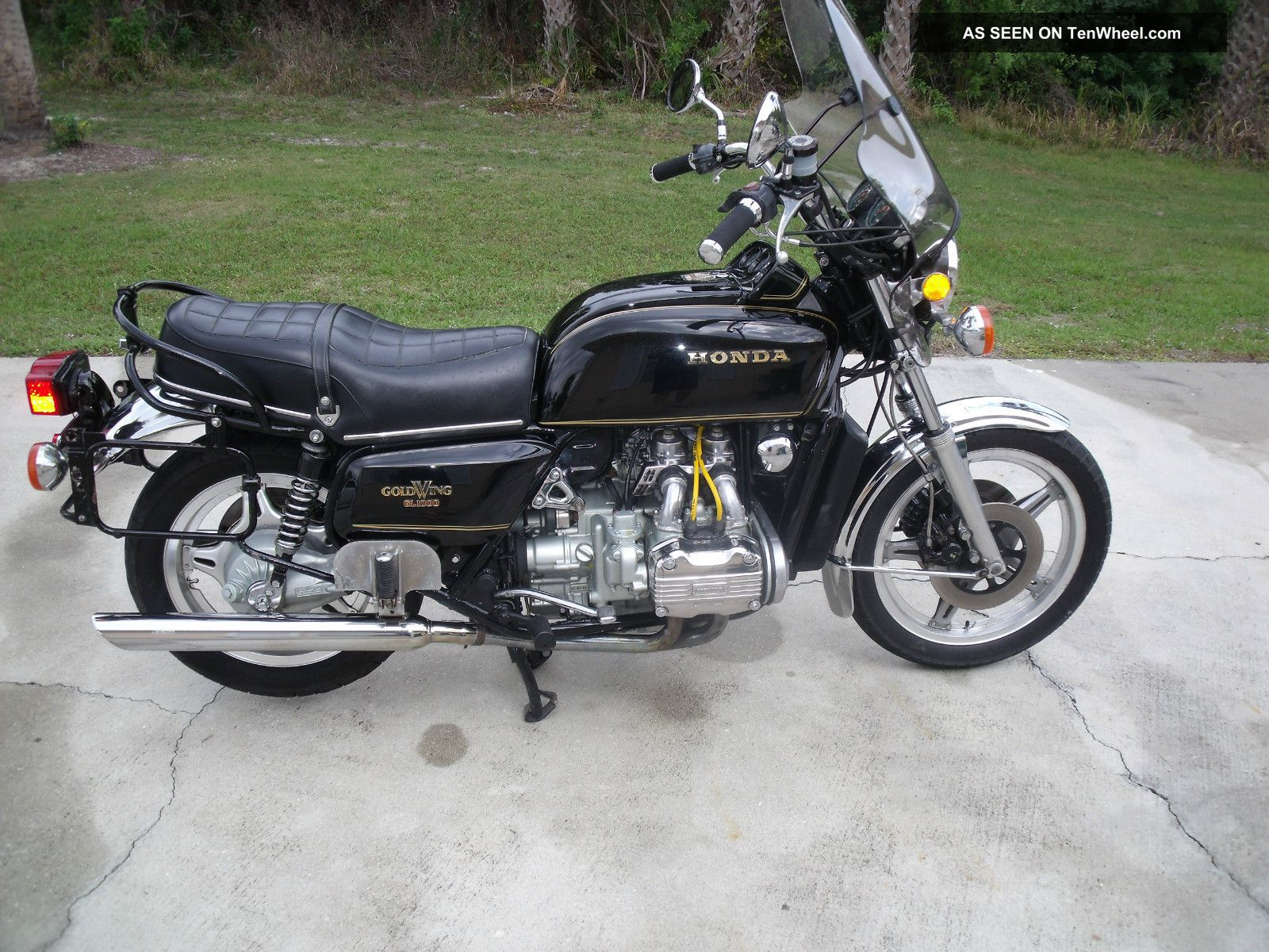 Honda GL1000 Gold Wing Interstate 1981 #7