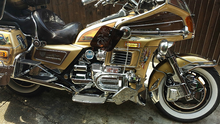 Wing Gold >> 1985 HONDA GL1200DX GOLD WING - Image #7