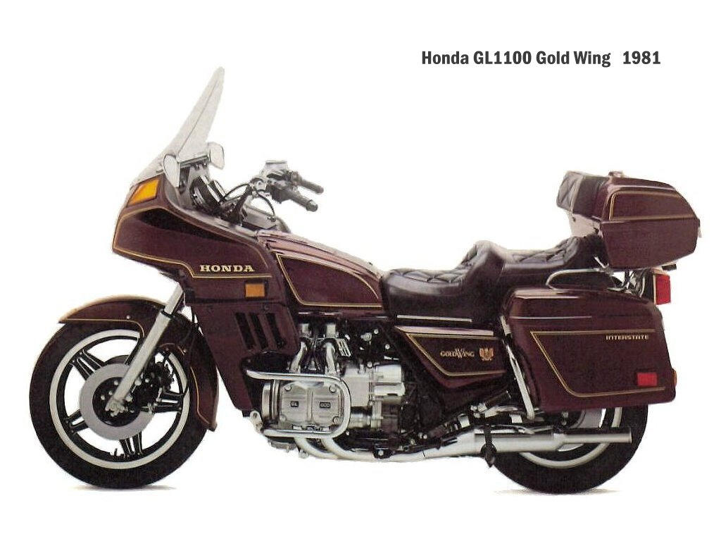 Honda GL1200DX Gold Wing #7