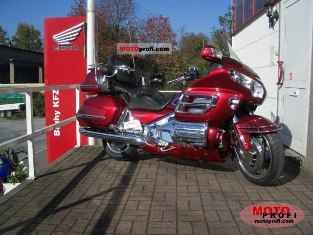 Honda GL1800 Gold Wing ABS 2004 #4