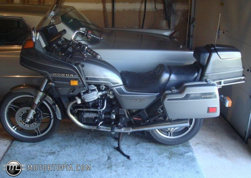 1983 Honda GL650 (reduced effect) #2