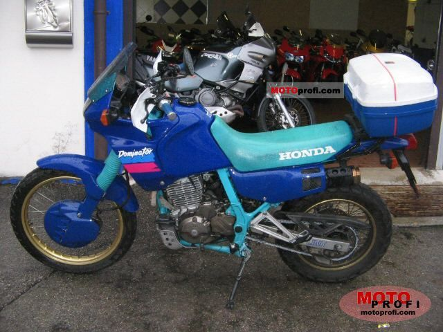 Honda NX650 Dominator (reduced effect) 1991 #1