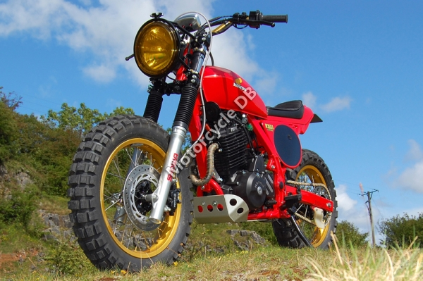 Honda NX650 Dominator (reduced effect) 1991 #13