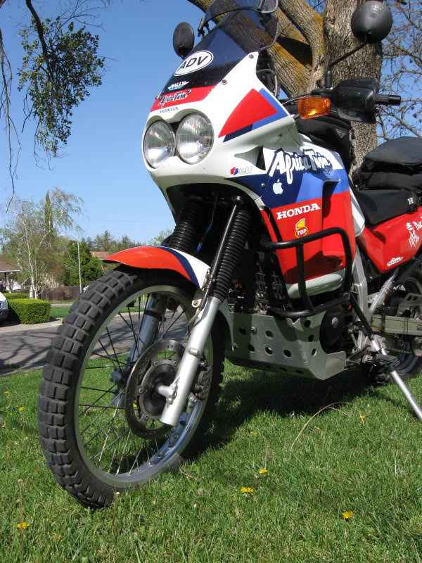 Honda NX650 Dominator (reduced effect) 1991 #14