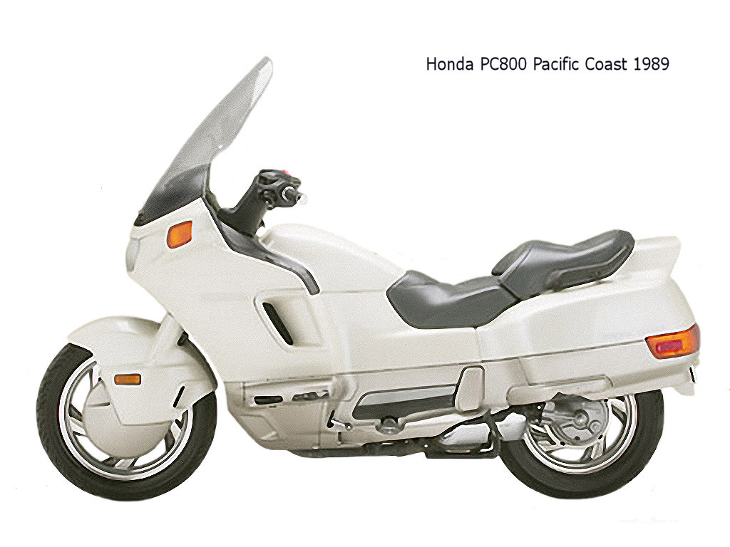 Honda PC800 Pacific Coast #7